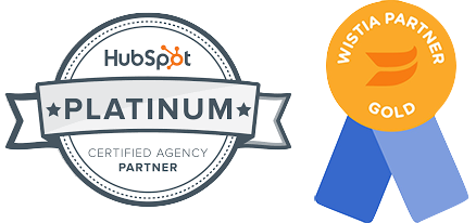 HubSpot Gold Partner Wistia Gold Partner Nextiny Marketing