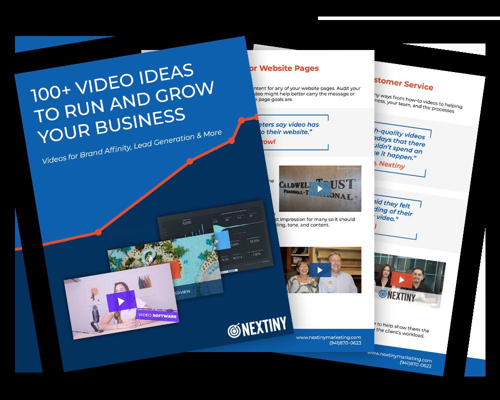 100+ Video Marketing Ideas